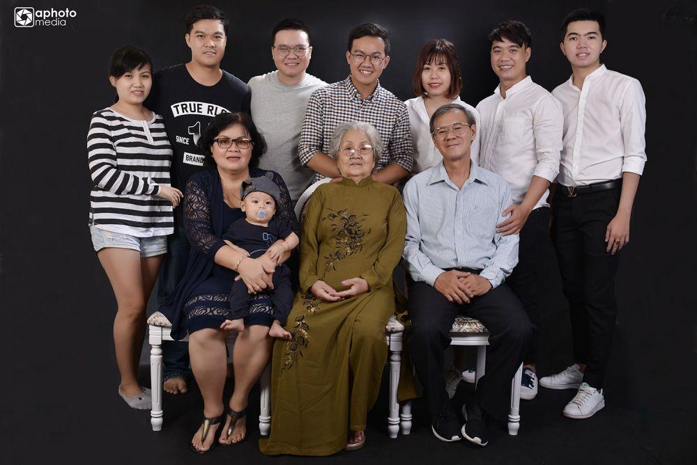 Studio Chụp Hình Gia đình Chuyên Nghiệp