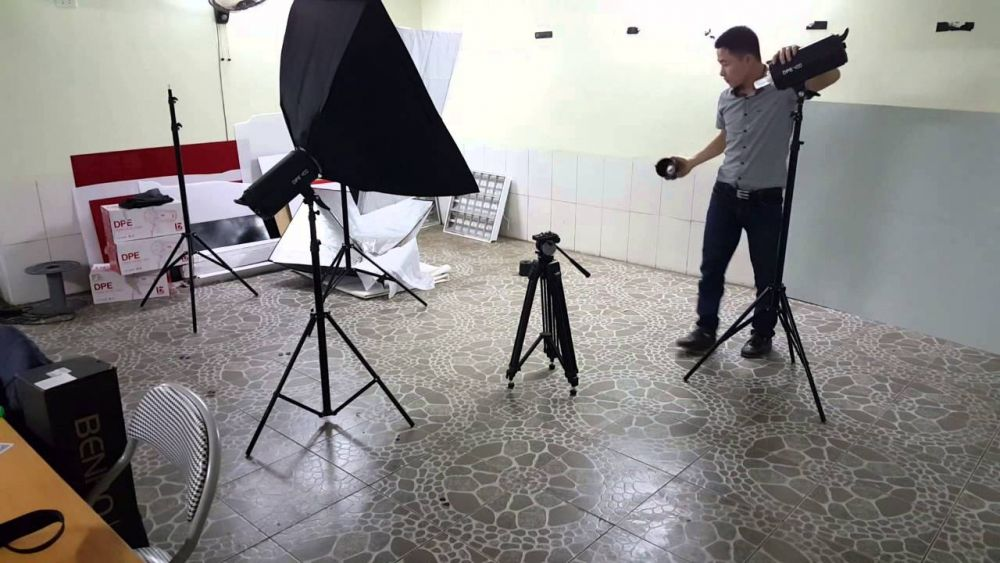 Tự Làm Studio Chụp ảnh Tại Nhà
