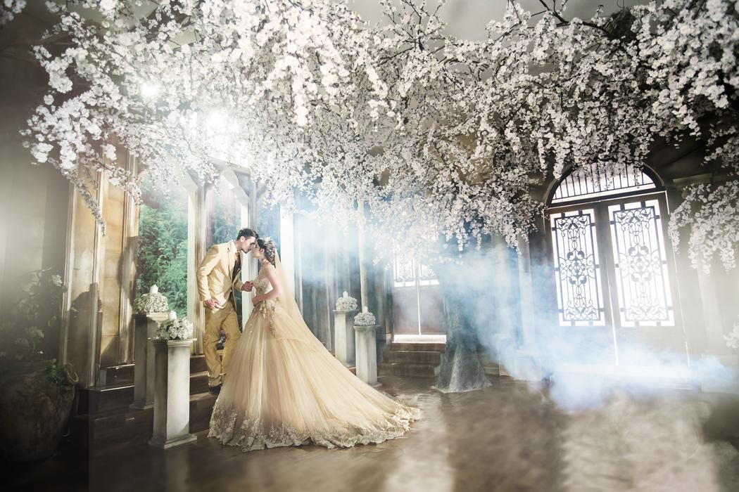 Chụp ảnh cưới đẹp ở các phim trường Sài Gòn