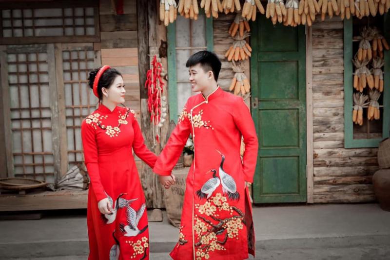 Nhu cầu thuê, may áo dài cưới đẹp